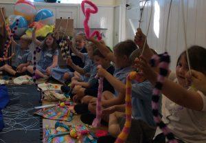 story & sensory school workshop