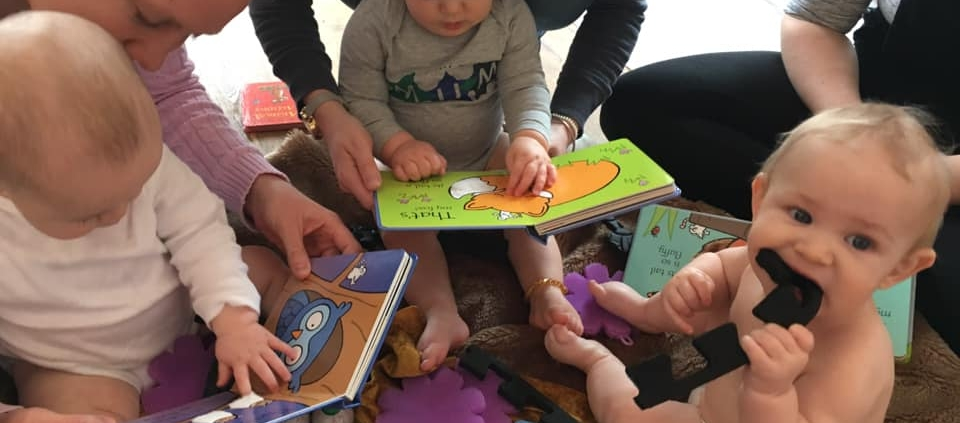 baby class sensory storytelling