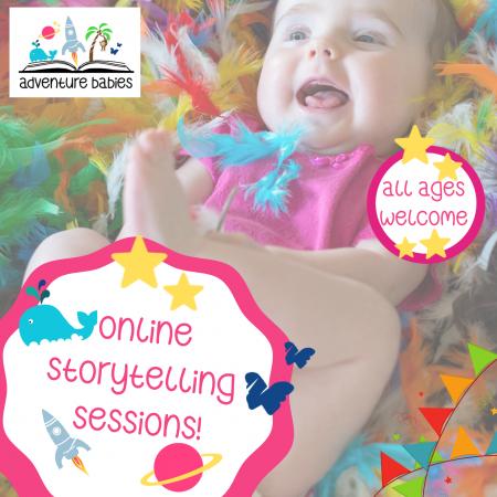 Online storytelling sessions