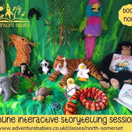 online sensory storytelling