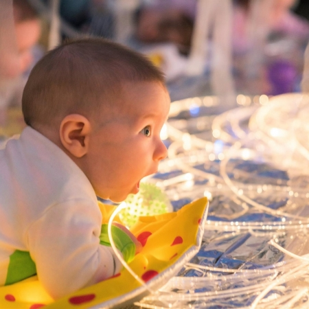 sensory storytelling baby class