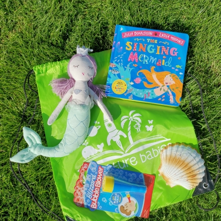 The Singing Mermaid storytelling bag
