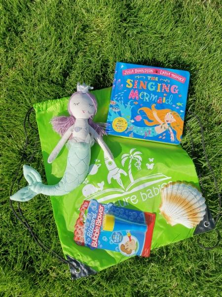 The Singing Mermaid storytelling bag