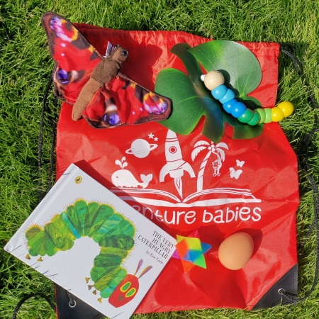 hungry caterpillar storytelling bag