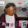 halloween face covering kids