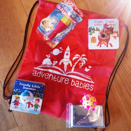 Christmas sensory bag